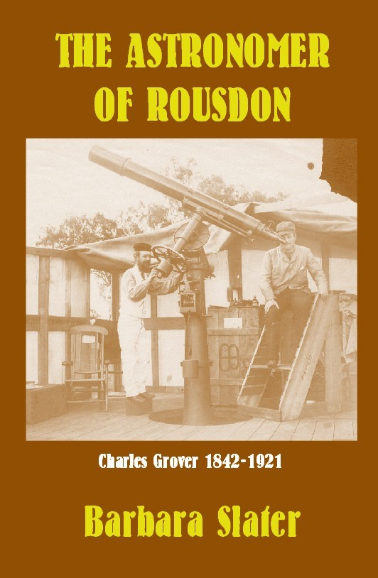 The Astronomer of Rousdon - Charles Grover (1842-1921) - by Barbar Slater